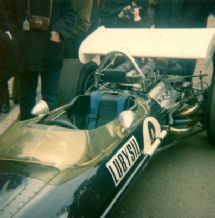 Lotus 49 Graham Hill 1970 Race of Champs close up
